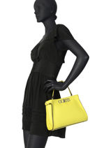 Satchel Uptown Chic Guess Yellow uptown chic VG730105-vue-porte