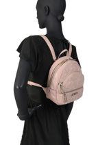 Backpack Manhattan Guess Pink mannathan QG699431-vue-porte
