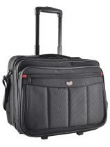 Wheeled Brief 3 Compartments + 17