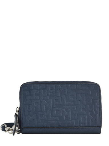 Longchamp La voyageuse lgp Wallet Blue