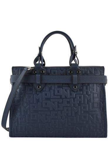 Longchamp La voyageuse lgp Handbag Blue