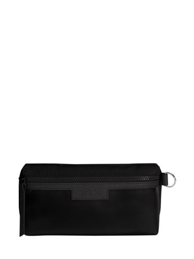 Longchamp Le pliage neo Clutches Black-vue-porte