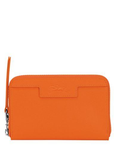 Longchamp Le pliage neo Wallet Orange
