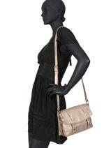 Crossbody Bag New Soft Lulu castagnette Silver new soft MOLITOR-vue-porte