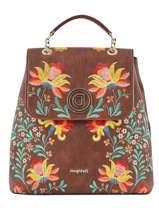 Backpack Adaggio Desigual Brown adaggio 20SAKP27