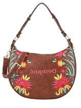 Shoulder Bag Adaggio Desigual Brown adaggio 20SAXP85