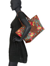 Shoulder Bag A4 Adaggio Desigual Brown adaggio 20SAXP86-vue-porte