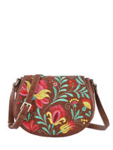 Crossbody Bag Adaggio Desigual Brown adaggio 20SAXP87