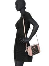 Shoulder Bag Guess Brown SE669112-vue-porte