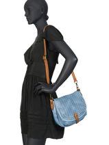 Shoulder Bag Authentic Torrow Blue authentic TAUT05-vue-porte