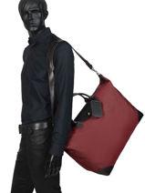 Longchamp Boxford Sacs de voyage Rouge-vue-porte