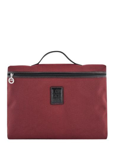 Longchamp Boxford Serviette Rouge