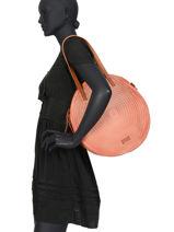 Shoulderbag Circle Torrow Pink circle TCIR02-vue-porte