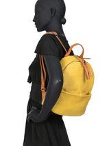 Backpack Authentic Tresse Torrow Blue authentic tresse TATT05-vue-porte