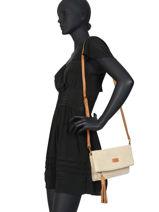 Raffia Crossbody Bag Majorca Torrow Beige majorque TMAJ04-vue-porte