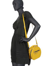 Shoulder Bag Couture Miniprix Yellow couture HJ1735-vue-porte