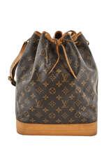 Preloved Louis Vuitton Bucket Bag Noe Gm Monogram Brand connection Brown louis vuitton 152