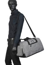 Cabin Duffle Luggage Quiksilver Gray luggage QYBL3176-vue-porte