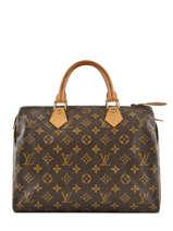 Sac à Main D'occasion Louis Vuitton Speedy 30 Monogrammé Brand connection Marron louis vuitton 274