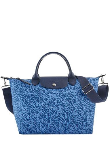 Longchamp Le pliage panthÈre Sacs porté main Bleu