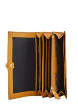 Leather Wallet Secret Sage Burkely Yellow secret sage 840960-vue-porte