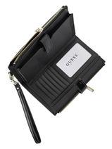 Wallet Melise Guess Black melise TG766757-vue-porte