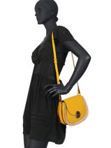 Crossbody Bag Sun Miniprix Yellow sun BV20077-vue-porte