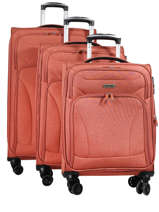 Luggage Set Snow Travel Red snow 12208LOT