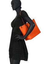 Medium Tote Bag Chadwick Lauren ralph lauren Orange chadwick 31758179-vue-porte