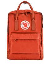 Backpack Kånken 1 Compartment Fjallraven Orange kanken 23510