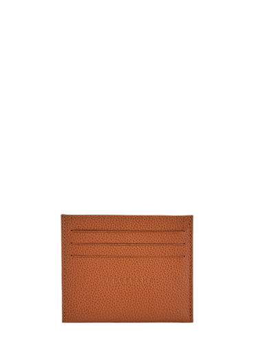 Longchamp Bill case / card case Brown