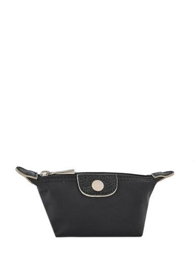 Longchamp Le pliage club Coin purse Gray