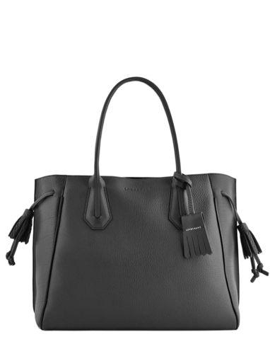 Longchamp Pénélope Hobo bag Black