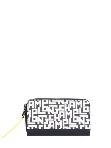 Longchamp Le pliage lgp Wallet Black