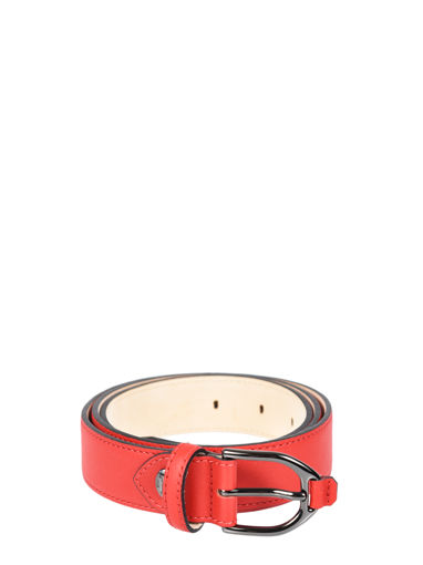 Longchamp Longchamp 3d Belts Red