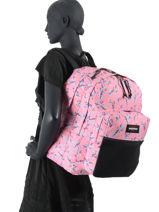 Backpack Pinnacle Eastpak Pink k060-vue-porte
