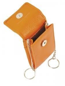 Key Holder Leather Petit prix cuir Violet glamor CHL303-vue-porte