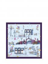 Longchamp Le Pliage Losange Scarves Violet