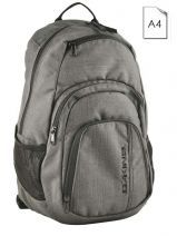Backpack 1 Compartment + 14'' Pc Dakine Gray street packs 8130-056