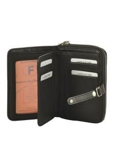 Wallet Leather Lancaster Brown soft vintage nova 120-60-vue-porte