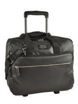 Briefcase On Wheels Jump Black 2425