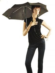 Umbrella Isotoner Black homme 9379-vue-porte