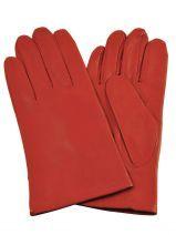 Gants Isotoner Rouge gant 68285