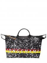 Longchamp Le pliage appaloosa Travel bag Black