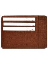 Longchamp Le foulonné Bill case / card case Brown