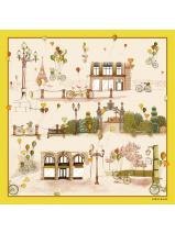Longchamp Le Pliage Losange Scarves Yellow