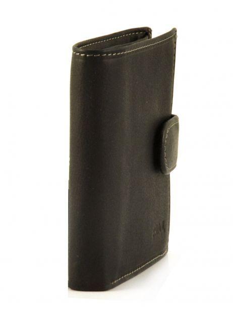 Porte-monnaie Cuir Petit prix cuir Noir elegance SA903 vue secondaire 1