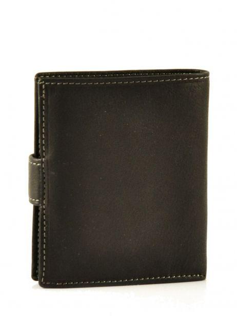 Porte-monnaie Cuir Petit prix cuir Noir elegance SA903 vue secondaire 2