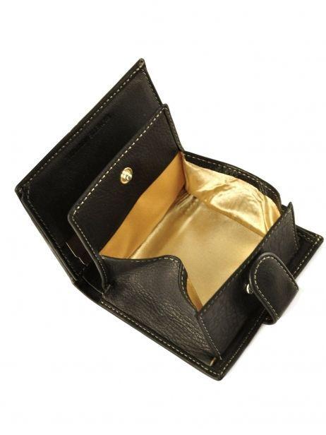 Porte-monnaie Cuir Petit prix cuir Noir elegance SA903 vue secondaire 5