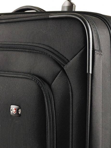 Softside Luggage Werks Traveler Victorinox Black werks traveler 313003 other view 1